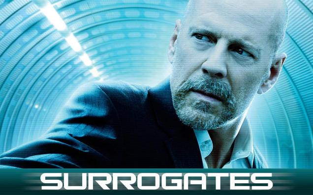 Bruce Willis in Surrogates